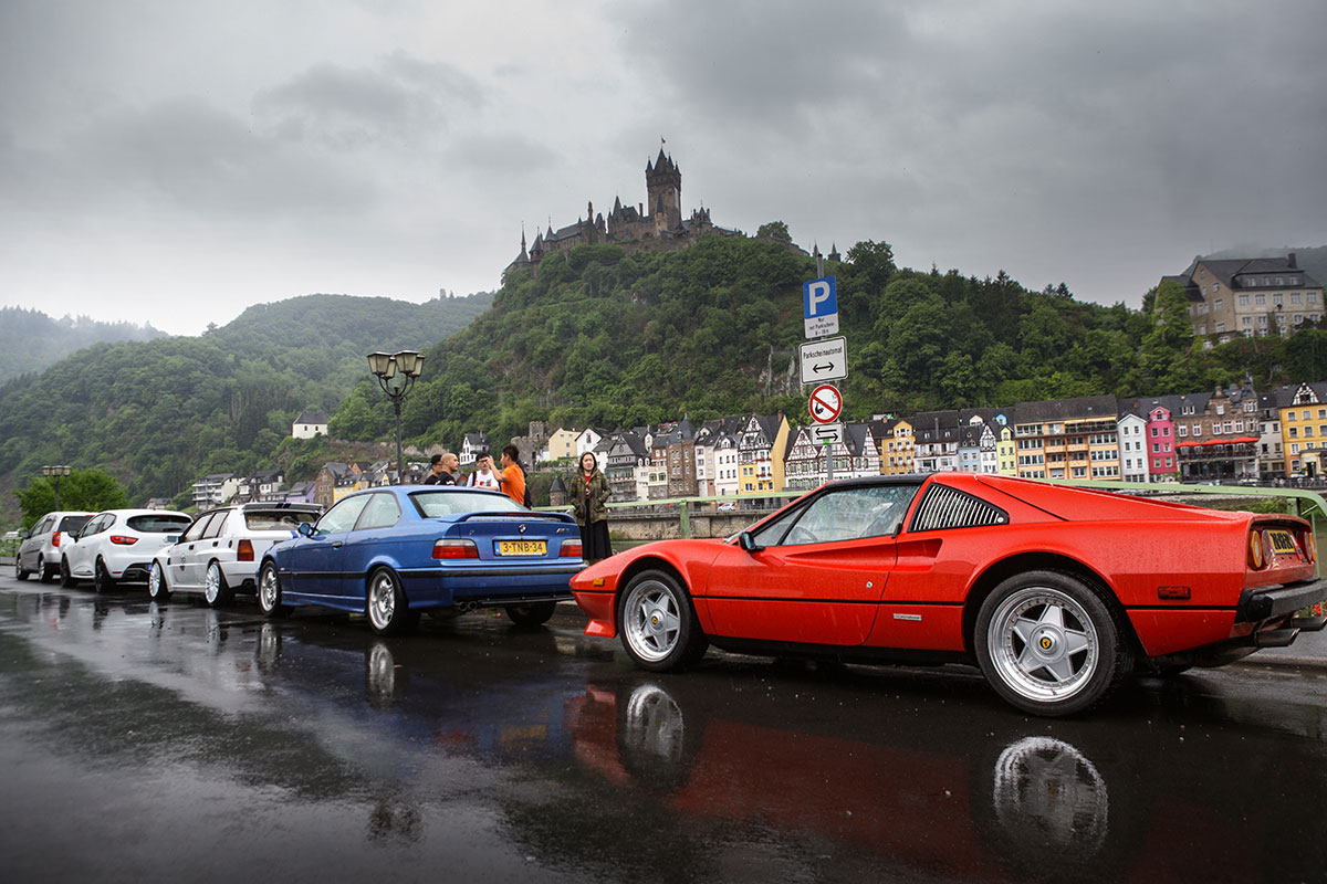 Classic cars and castle tour