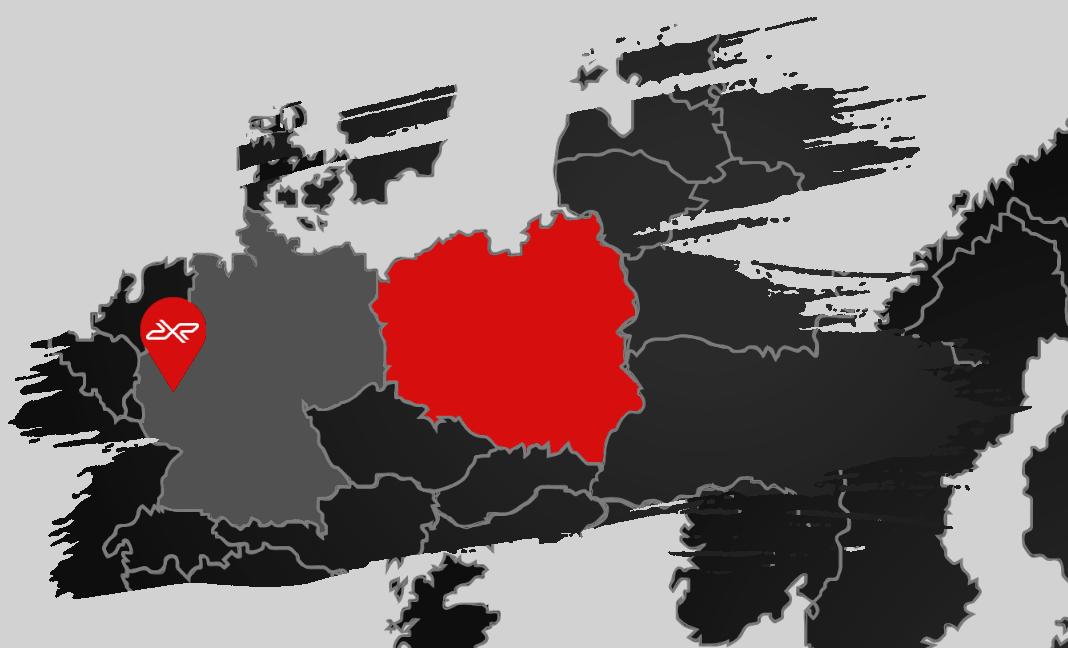 Mapka z położeniem toru Nurburgring